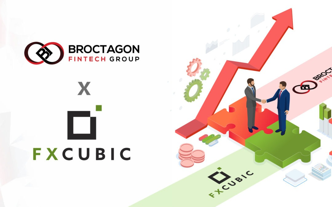 Broctagon and FXCubic Announce New Multi-Level Partnership