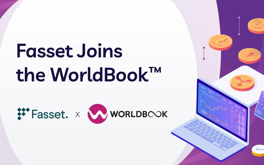 Fasset, a Tokenisation Platform and Digital Assets Exchange, Joins the WorldBook™