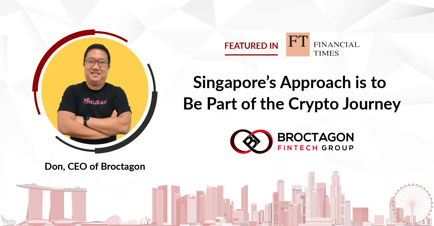 Singapore's approach is to be part of the crypto journey